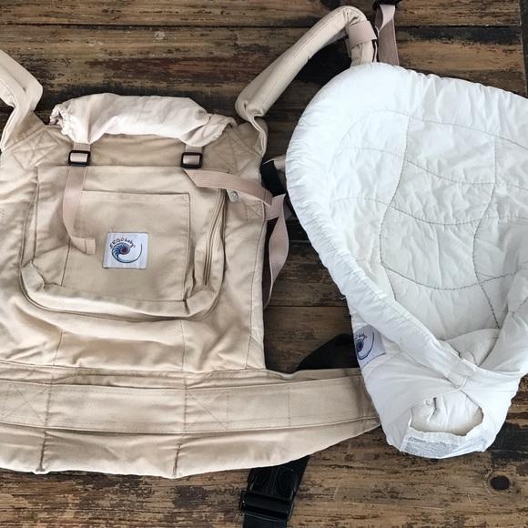 Ergo Baby Carrier Original And Infant Insert